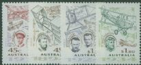 AUS SG1475-8 Aviation Pioneers set of 4